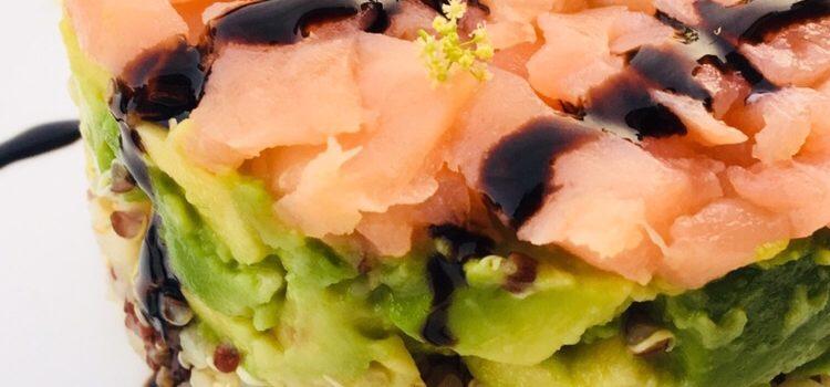 Quinoa gourmand au saumon fumé et avocat