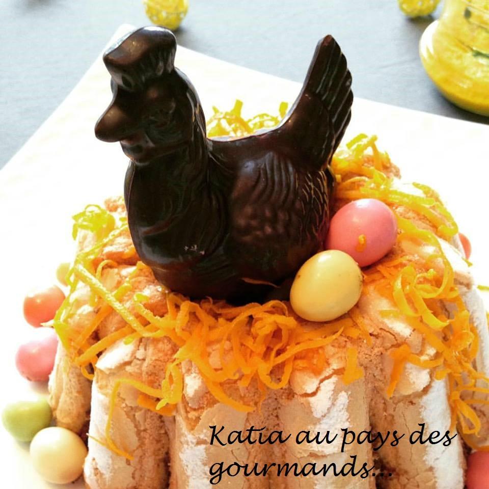 Charlotte Mousse au chocolat et zestes d'orange confits