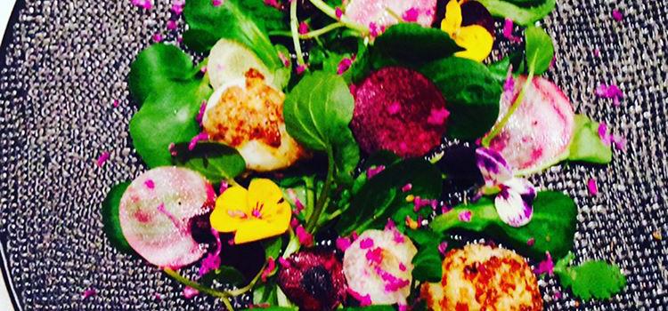 Salade aux prémices de printemps