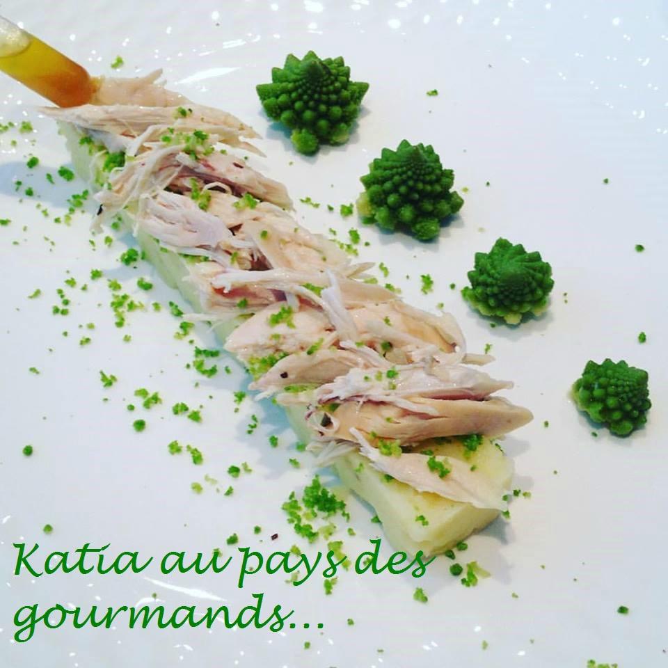 Poulet rôti et écrasé de pommes de terre !!!