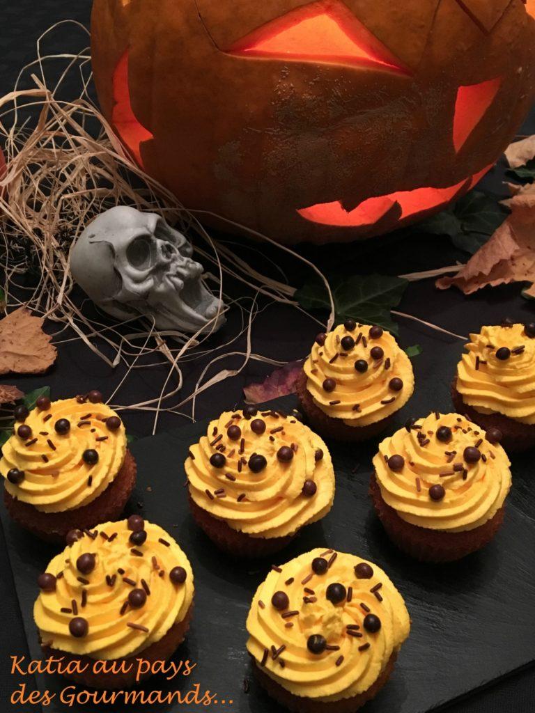 Cupcakes à l'orange