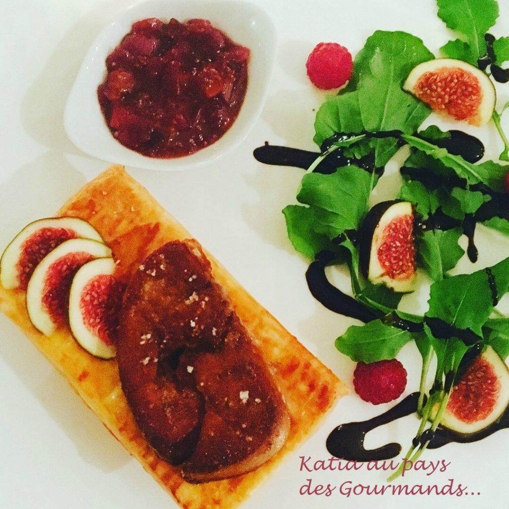 Mille-feuille de foie gras