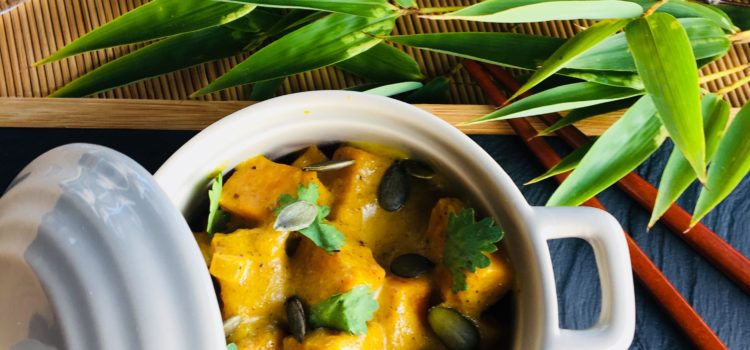 Curry de patates douces