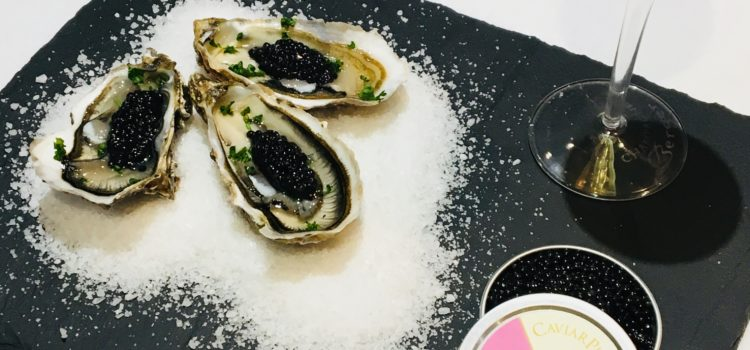 Huitres au caviar