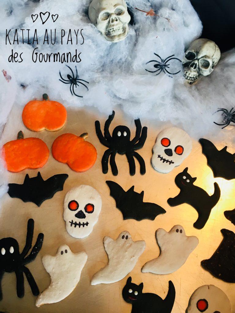 Sablés d'Halloween