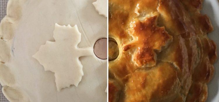 Tourte forestière : champignons, chevreuil et foie gras