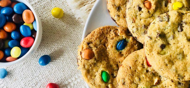 Cookies aux bonbons