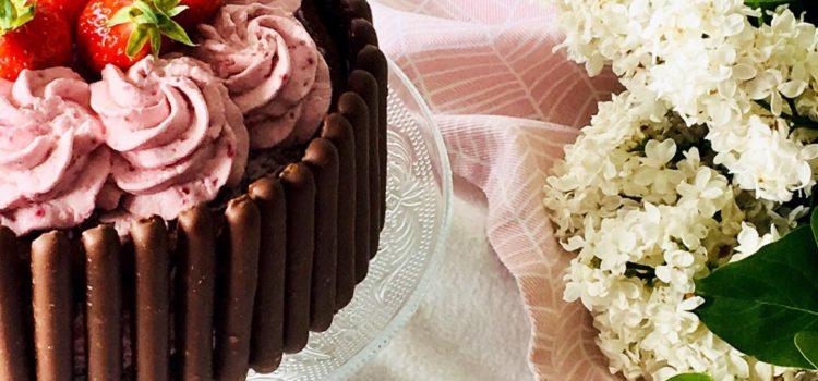 Gâteau choco/fruits rouges